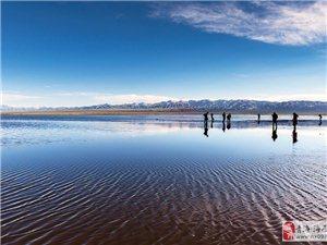 茶卡盐湖迎来开园后首个客流高峰,五一相约茶卡,遇见最美的自己哟