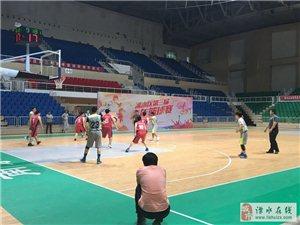 溧水区第三届机关青年篮球联赛开幕