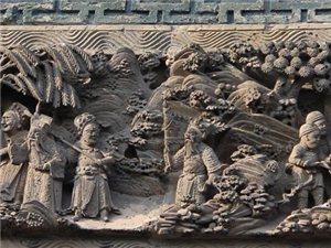 亳州大戏楼砖雕艺术欣赏:狸猫换太子!!