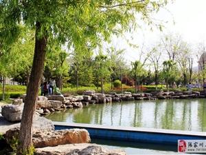 风情万种的张家川公园,充满了浪漫新奇