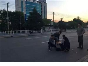 汉川城区划车身犯罪嫌疑人落网!
