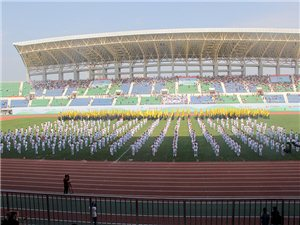 总参演人次5000人,超里约奥运会开幕式的汝州市第六届运动会开幕式精彩节目回顾!