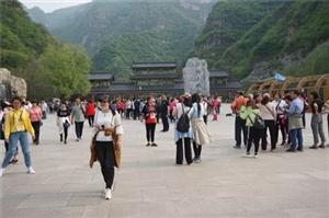 五一小长假野三坡景区接待游客22.4万人次