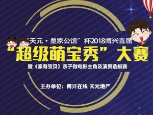 """""""天元皇家公馆""""杯2018博兴首届""""超级萌宝秀""""大赛"""