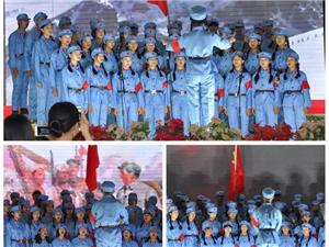 龙潭中学隆重举行庆五四合唱比赛