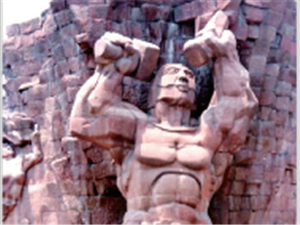 文化的传承――通江石雕