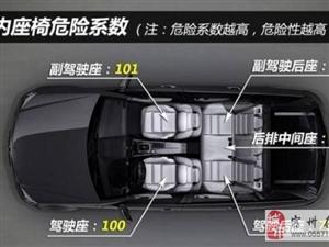 车上哪个位置最安全? 你可能猜错了!