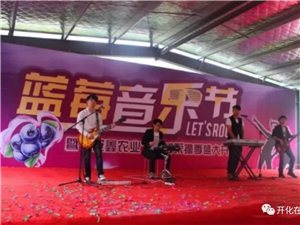 """开化县桐村镇第三届""""安鑫杯""""蓝莓音乐节"""