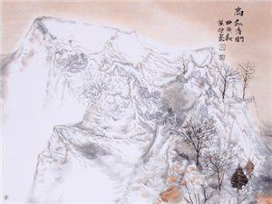 秋色已然――��洪源中����山水作品欣�p