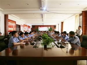 合阳公安组织新闻宣传培训,大力提高民警整体宣传水平