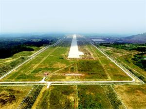 恩阳机场建设倒排工期力争9月验收
