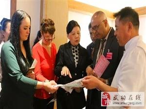 指尖上的丝绸之路――国际女性手工艺发展论坛与会人员来武考察