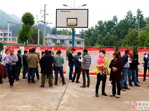 丹江口人社局服务企业用工盐池河镇巡回招聘会
