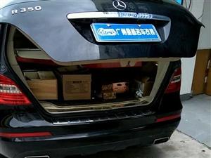 15款奔驰R320 R350 R400改一键启动无钥匙进入电动尾门