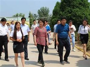 上海市副市长翁铁慧来合调研教育教学工作