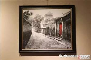 海涛藏油画展在县博物馆开展