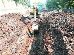 泉口西路延伸段项目正有序推进中预计10月通车