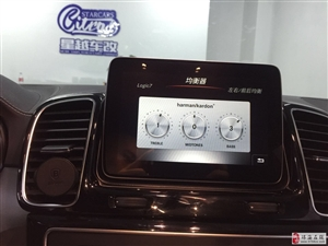 奔驰GLE400 GLE320改哈曼卡顿音响BO高音头无钥匙进入