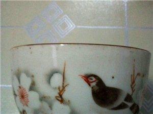 喜上眉梢小茶碗