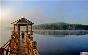 桃源湖之晨(图片拍摄:于宝文)
