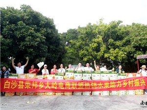 白沙县荣邦乡大岭电商联盟热销水果 助力乡村振兴