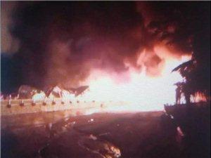 威尼斯人网上娱乐平台一景区失火,损失数百万!