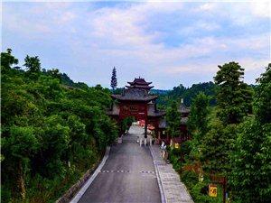 航拍仙佛寺——-这里的风景很美
