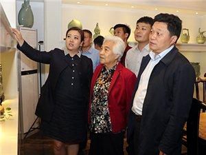 原国务院副总理吴桂贤来河南宝丰汝窑博物馆参观指导