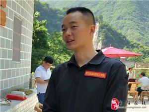 旬阳潘全耀原创:开茶舍的第一书记