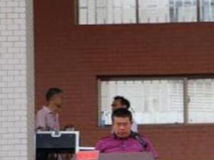 """湖南省澳门网上投注游戏一中举行""""青春绽放,梦想飞扬""""成人礼活动"""