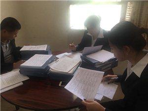 合阳县教研室深入同家庄镇学校进行常规检查指导工作