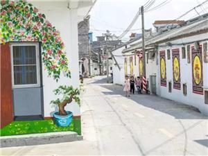 揭阳城乡这些彩色文化墙,惊艳了时光!