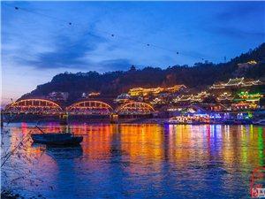 兰州中山桥夜景