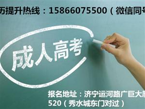 济宁网络教育报名条件_报考专业