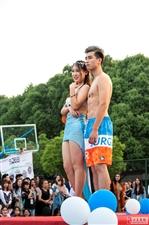 T台上下――图记武汉工程科技学院校园模特大赛