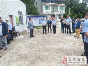 盐亭县副县长、公安局局长贾正国一行调研全县农村道路交通安全管理工作