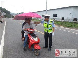 交警大队富驿中队全力开展摩托车专项整治效果显著