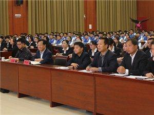 同济大学副校长、渭南市委常委、副市长吕培明来合阳中学调研教育工作