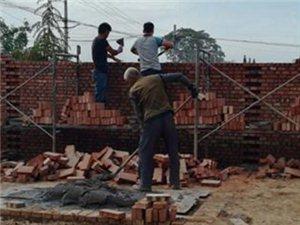 合阳县林业局对包联村危房改造工作进行监督检查