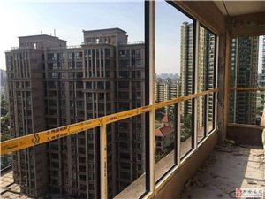 【南京忠旺门窗】中冶天城伟昌断桥铝封阳台,换窗户效果图!