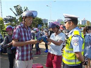 社会文明大行动;交警支队开展摩托车电动车专项整治行动