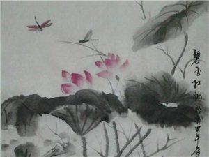 【巴彦网】国画家巴彦人王飞龙:国画欣赏