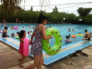 安岳金水岸游泳池6月6日隆重开放!欢迎光临!!!