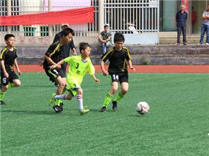 黄梅县举办第四届校园足球联赛