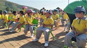 """""""跟孩子们?#40644;?#36807;六一儿童节""""2018年龙王庙幼儿园"""