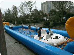 【澳博国际娱乐碧桂园】充气滑梯大冲关、陆地泳池、鲨鱼城堡……