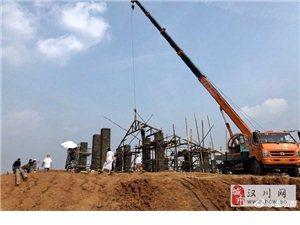 汉川马口窑艺术特色小镇,紧锣密鼓的建设中