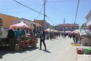 马鹿镇的集市越来越热闹了,这还是你记忆当中的马鹿集市吗?