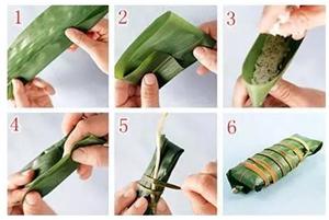 6种最实用的包粽子方法,一学秒会