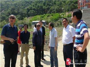 黄镇东到旬阳开展《中国水运史》和《中国水运工程建设实录》编纂工作调研